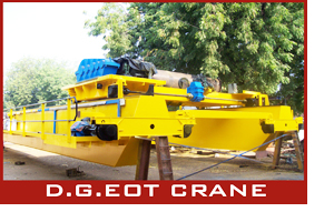 D.G.EOT Crane in anand, best EOT Cranes anand, Double Girder EOT Cranes in anand - Oswal Machinery Limited - Anand